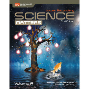 Lower Secondary Science Matters Textbook Volume A (2nd Edition) (Print & E-book bundle)