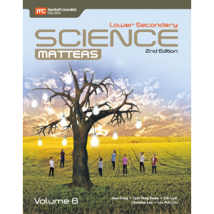 Lower Secondary Science Matters Textbook Volume B (2nd Edition) (Print & E-book bundle)