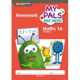My Pals Are Here Maths Homework Book 1A 3ED