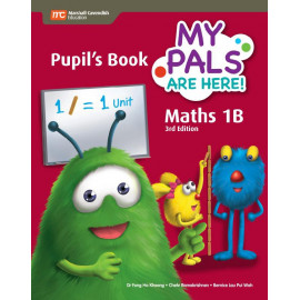 My Pals Are Here Maths Pupil's Book 1B (3rd Edition) (Print & E-book bundle)