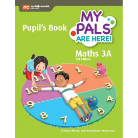 My Pals Are Here Maths Pupils Book 3A (3rd Edition) (Print & E-book bundle)