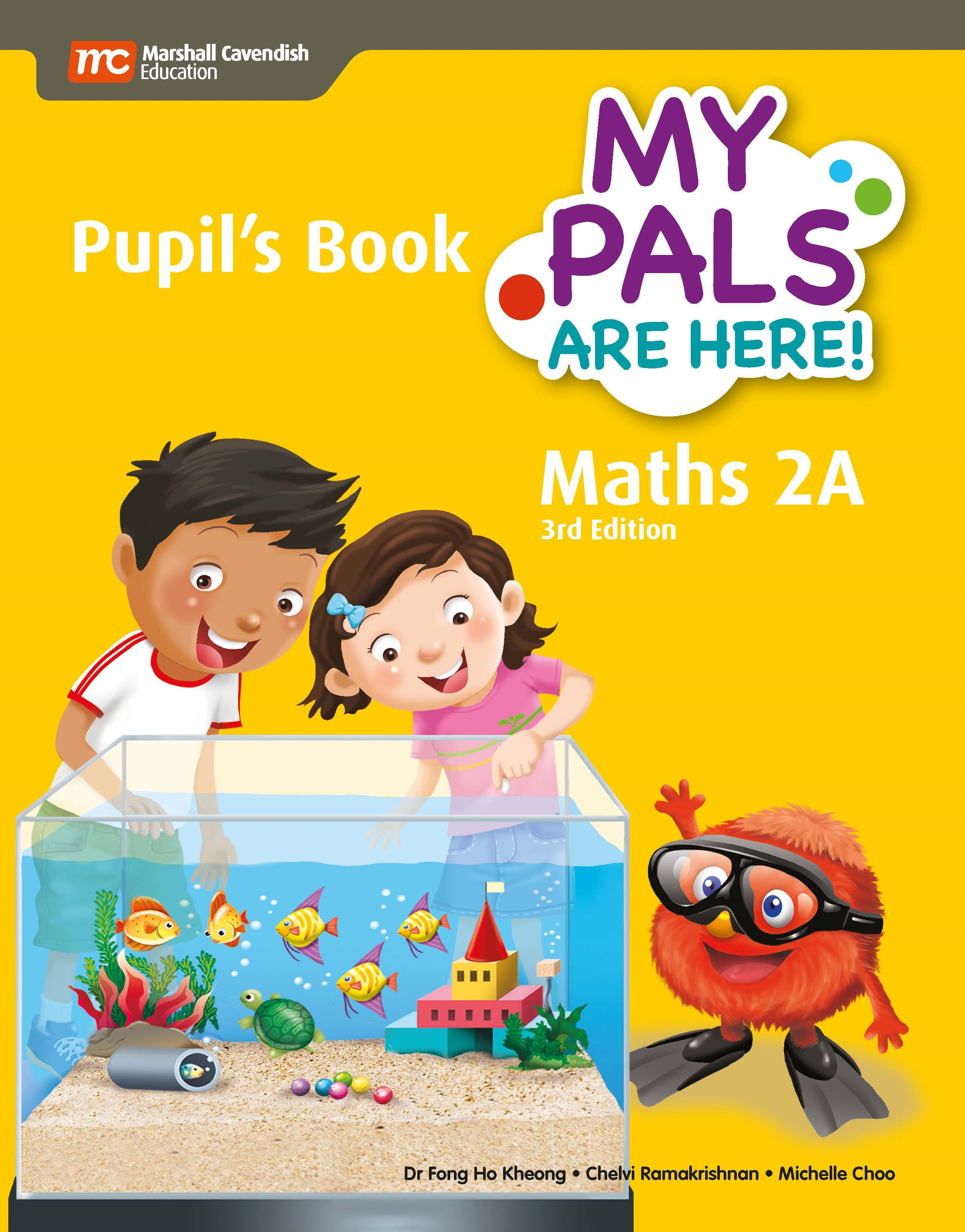 My Pals Are Here! Maths Pupil\'s Book 2A (3rd Edition) (Print & E ...