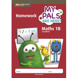 My Pals Are Here Maths Homework Book 1B (3rd Edition)