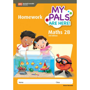 My Pals Are Here Maths Homework Book 2B 3ED