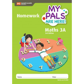 My Pals Are Here Maths Homework Book 3A (3rd Edition)