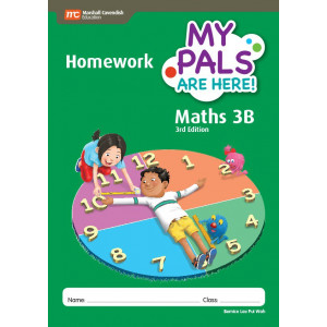 My Pals Are Here Maths Homework Book 3B 3ED