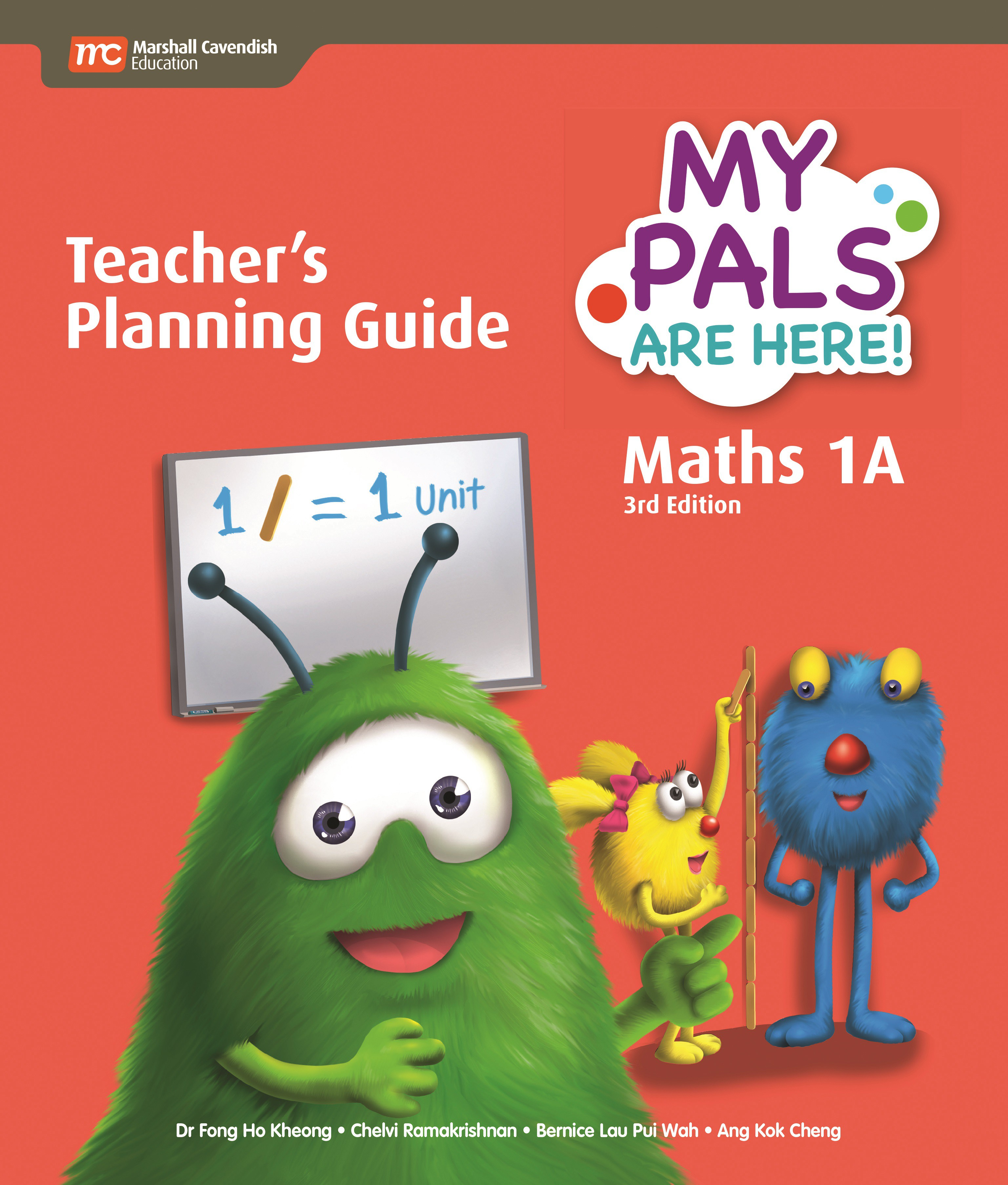 My Pals Are Here Maths Teacher\'s Planning Guide 1A (3rd Edition ...