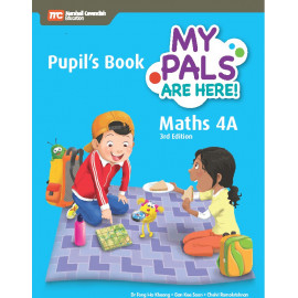 My Pals Are Here Maths 4A Pupil's Book (3rd Edition) (Print & E-book bundle)