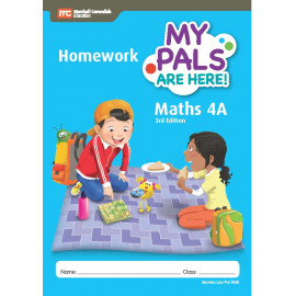 My Pals Are Here Maths Homework Book 4A (3rd Edition)