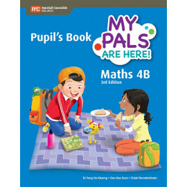 My Pals Are Here Maths Pupil's Book 4B (3rd Edition) (Print & E-book bundle)