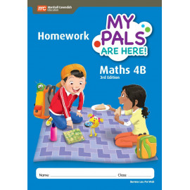 My Pals Are Here Maths Homework Book 4B (3rd Edition)