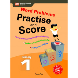 Word Problems - Practise and Score Primary 1 (2nd edition)