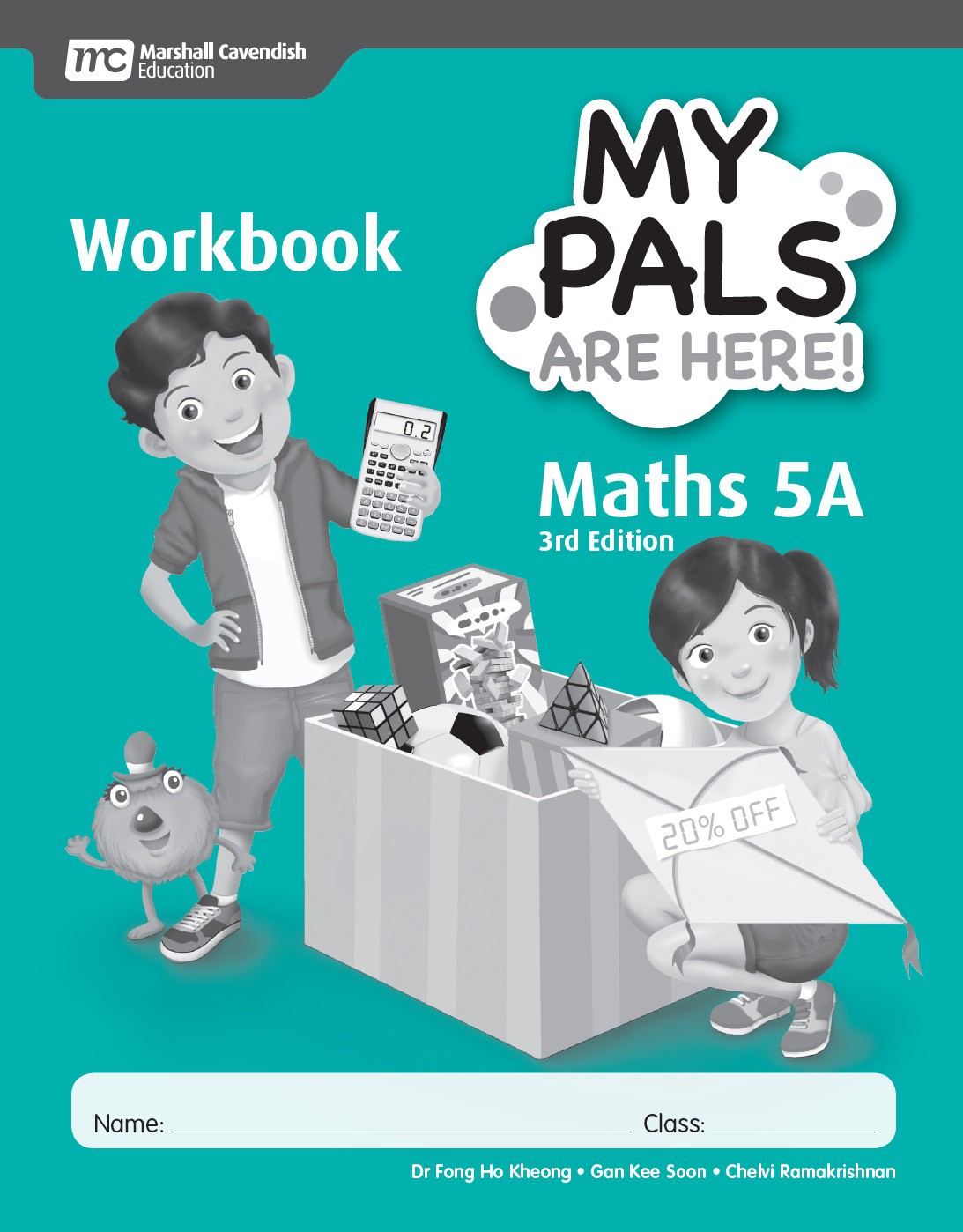 My Pals Are Here Maths Workbook 5A (3rd Edition) - Singapore