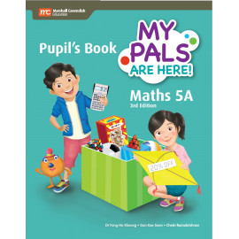 My Pals Are Here Maths Pupil's Book 5A (3rd Edition) (Print & E-book bundle)