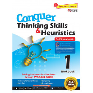 Conquer Thinking Skills & Heuristics for Primary 1