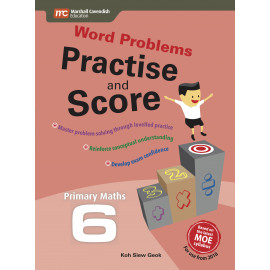 Word Problems - Practise and Score Primary 6 (2nd edition)