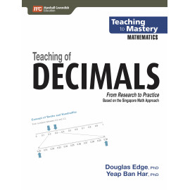 Teaching to Mastery Mathematics: Teaching Of Decimals
