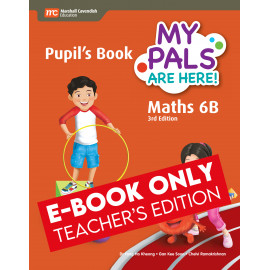 My Pals Are Here Maths Pupil's Book 6B (3rd Edition) (E-book Teacher Edition)
