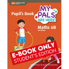 My Pals Are Here Maths Pupil's Book 6B (3rd Edition) (E-book Student Edition)