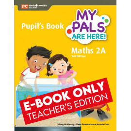My Pals Are Here Maths Pupil's Book 2A (3rd Edition) (E-book Teacher Edition