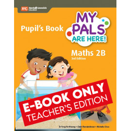 My Pals Are Here Maths Pupil's Book 2B (3rd Edition) (E-book Teacher Edition)
