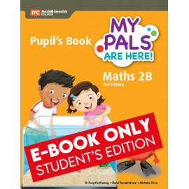 My Pals Are Here Maths Pupil's Book 2B (3rd Edition) (E-book Student Edition
