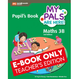 My Pals Are Here Maths Pupil's Book 3B (3rd Edition) (E-book Teacher Edition)