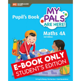 My Pals Are Here Maths Pupil's Book 4A (3rd Edition) (E-book Student Edition)