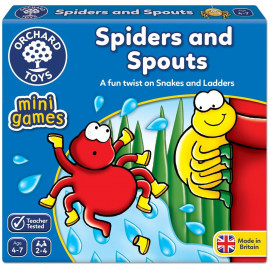 Spider And Spout Mini Game