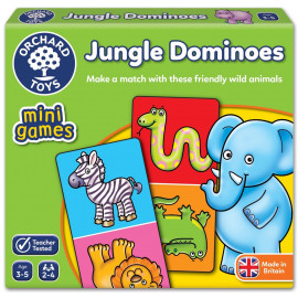 Jungle Dominoes Mini Game