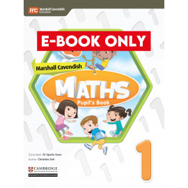Marshall Cavendish Maths Pupil's Book 1 (CIE) (Print & E-book bundle)
