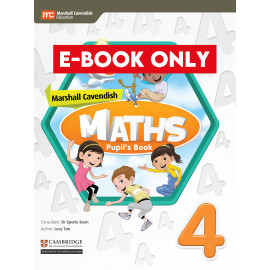 Marshall Cavendish Maths Pupil's Book 4 (CIE) (Print & E-book bundle)
