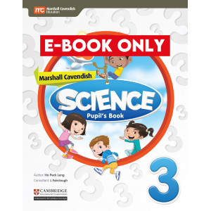Marshall Cavendish Science Pupil's Book 3 (CIE) (Print & E-book bundle)