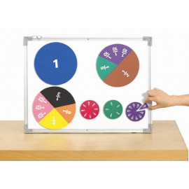 Fraction circle Printed Demo Magnetic