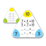 Family Fact Board Set of 5 (Write and Wipe)