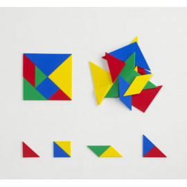 Tangrams Plastic set of 4
