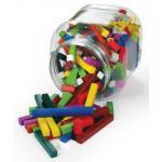 Coloured Rods (Cuisenaire) Plastic 155pc