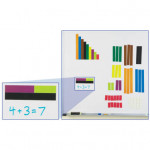 COLOURED MAGNETIC RODS (SMALL)