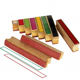 Stamp Coloured Rods 10