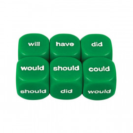 Dice Helping Verbs Past 16mm (1pc)