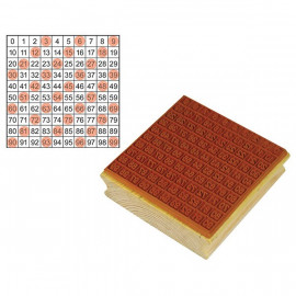 Stamp Hundreds Grid 1-100
