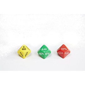 Dice Soft Plastic Equivalence 10 - Sided