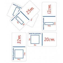 Dominoes Perimeter Calculation 28pc