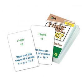 I Have, Who Has? - Algebra 36pc