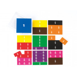 Fraction Square Printed 51pc