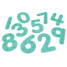 Silishapes Dot Numbers (Green)