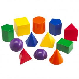 Geometric solids DEMO 8cm 12 shapes
