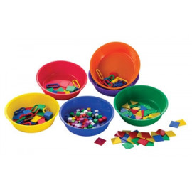 Sorting & Paint Bowl Set 6 Col 6pc