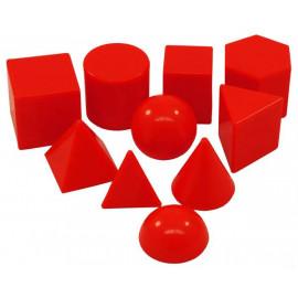 Geometric Solids MINI 2.5cm 10pcs