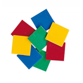 Tiles Plastic 4 Col 400pc pbag 0.2cm thick